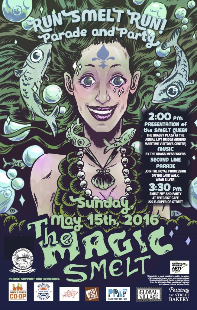 Magic Smelt Poster 5.15. 2016