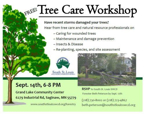 tree care workshop